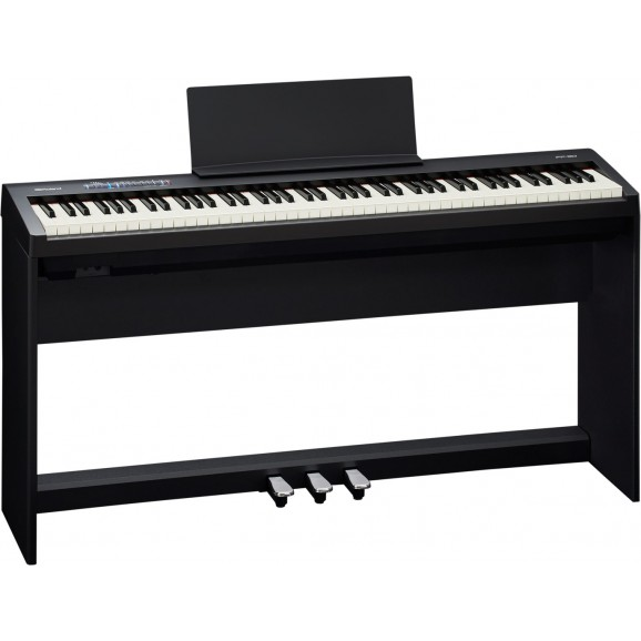 FP-30 Digital Piano with stand and pedal board