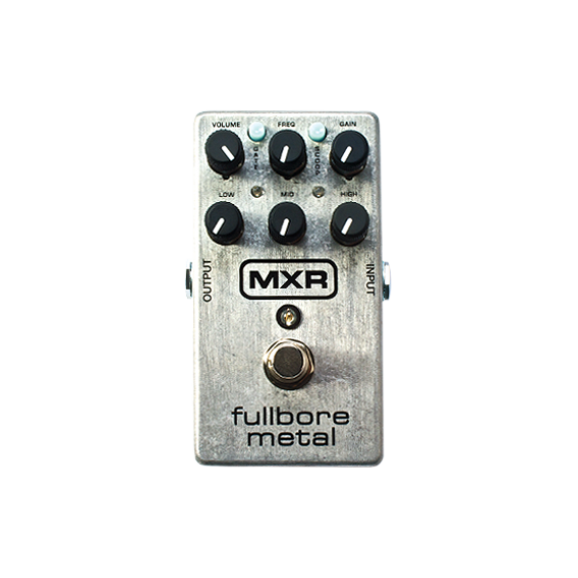 MXR Fullbore Metal Distortion Effects Pedal