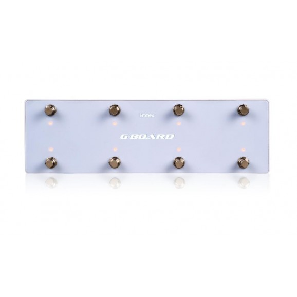 Icon G-Board USB MIDI Footswitch Pedal Controller - White