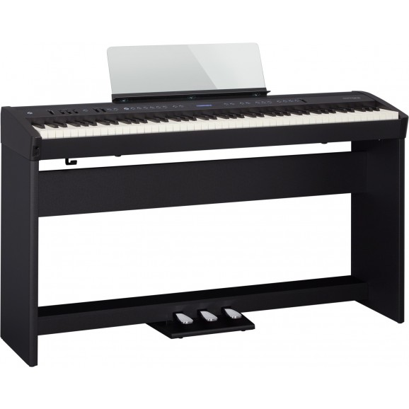 FP-60BKS Digital Piano with Stand, Pedals and Stool