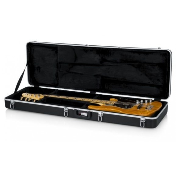 Gator Cases Deluxe Moulded Case for Bass Guitars