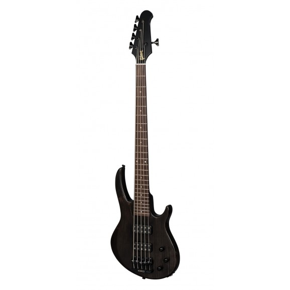 Gibson EB 5-String Bass Guitar in Trans Black Satin