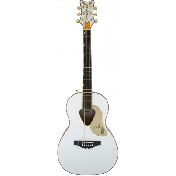 Gretsch G5021WPE Penguin Parlour Acoustic Guitar in White