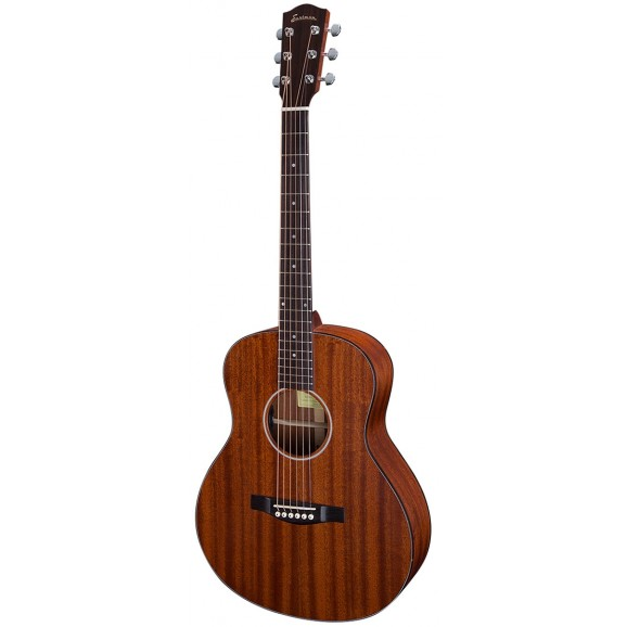 Eastman Solid Sapele Acoustic Electric Travel Guitar