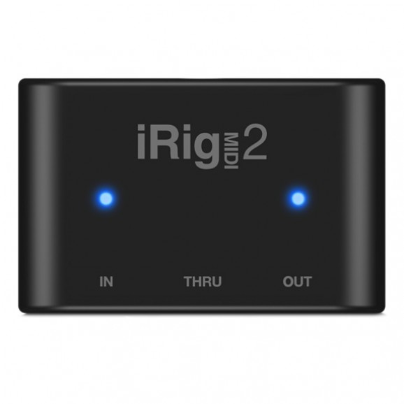 IK Multimedia iRig Midi 2 iOS Interface for iPod/iPad/iPhone