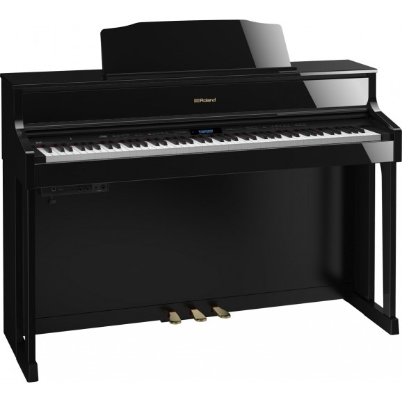 HP605 Digital Piano Polished Ebony