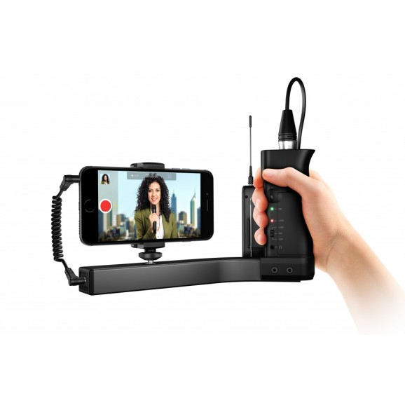 IK Multimedia iKlip A/V Smartphone Broadcast Mount