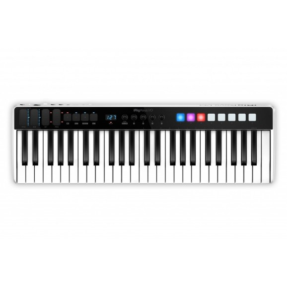 IK Multimedia iRig Key I/O 49 MIDI Controller and Audio Interface