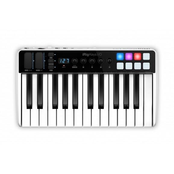 IK Multimedia iRig-Key I/O 25 MIDI Keyboard and Audio Interface