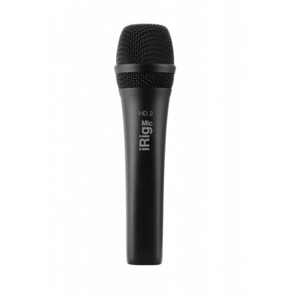 IK Multimedia IK Mutlimedia iRig Mic HD2 Digital Handheld Microphone for iOS