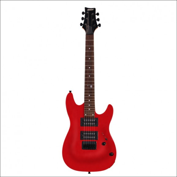Ashton Joey Backstage Guitar Red