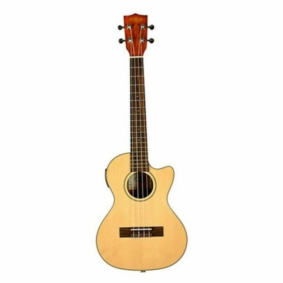 Kala Tenor Acoustic / Electric Ukulele with Cutaway and Solid Spruce Top