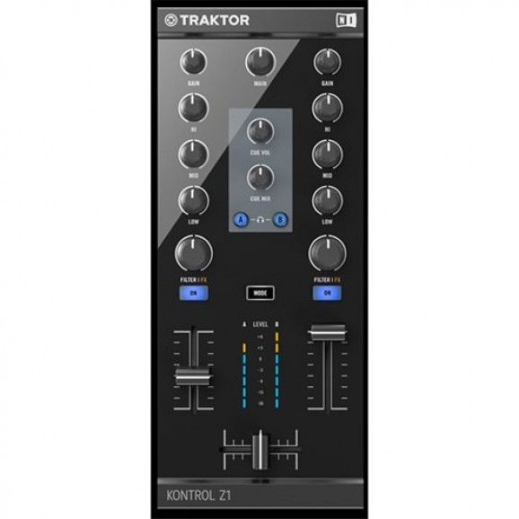 Native Instruments Traktor Kontrol Z1 Dj Controller & Interface