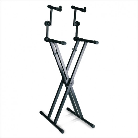 Armour KSD98D Two-Tier Keyboard Stand
