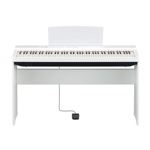 Yamaha L125 Timber Stand for P125  Portable Pianos - White