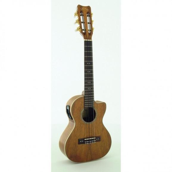 Lanikai Curly Koa 6-String Tenor Ukulele with Pickup