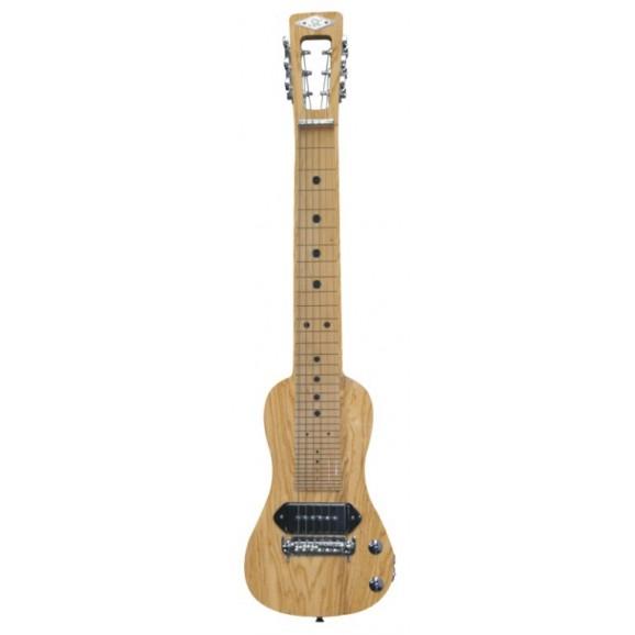 SX LG22N Lap Steel Guitar with Bag - Natural