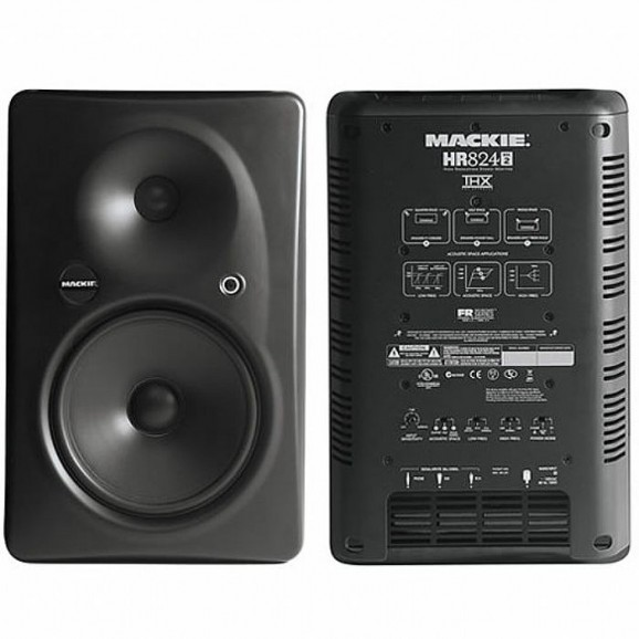 Mackie HR824MKII - 8 Inch 2 Way Active Hi-Res Studio Monitors Pair *Hurry Special Clearence Price