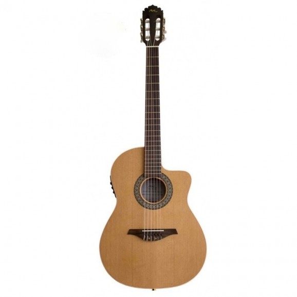 Manuel Rodriguez C11 Classical Guitar with Cutaway and Pickup in Walnut
