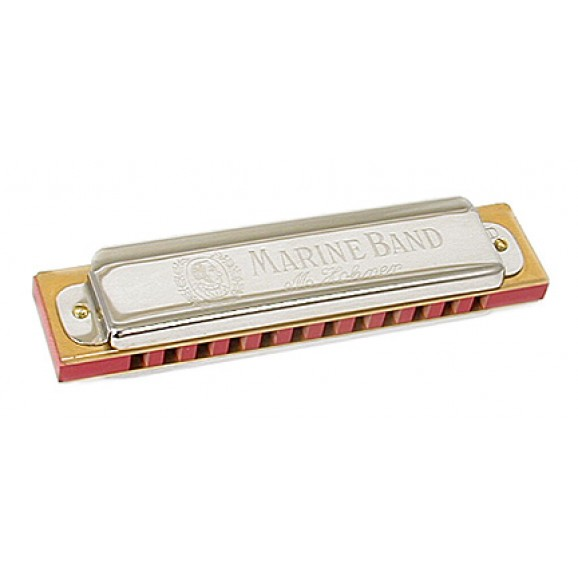 Hohner Marine Band Harmonica Key Of B