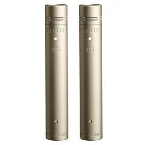 Rode NT5 Cardioid Condenser Microphone  - Matched Pair