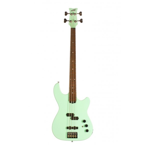 JB4 Bass Guitar in Surf Green + Deluxe Hard Case