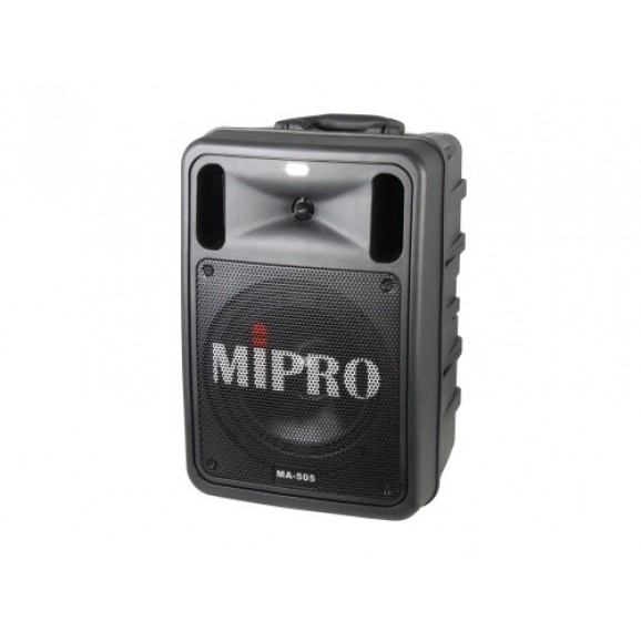 MiPro portable PA System 100w with Bluetooth and 2X Wireless Reciever