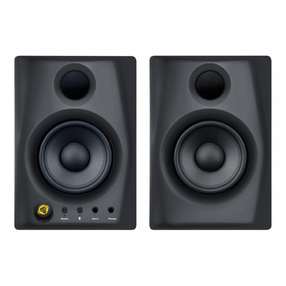 Monkey Banana - Gibbon Air 2.0 Studio Monitors with Bluetooth - Pair (Black)