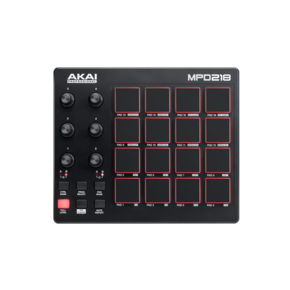 MPD218 Feature-Packed,Highly Playable Pad Controller