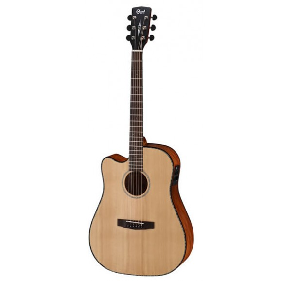 Cort MR-E Left Handed Acoustic Electric Guitar