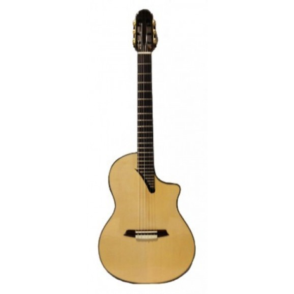 MS14M-PRE Classical Guitar With Hard Case