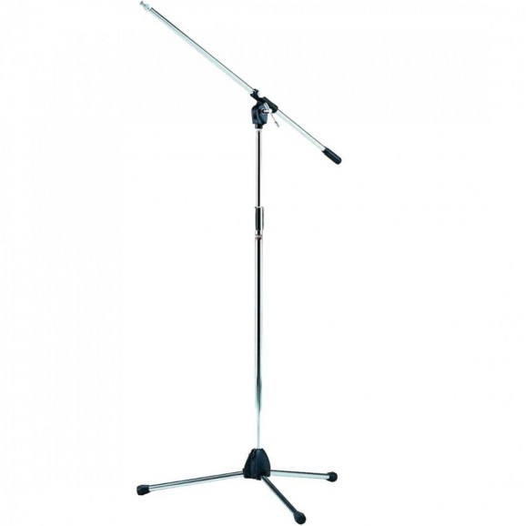 MS205 Microphone Boom Stand Chrome