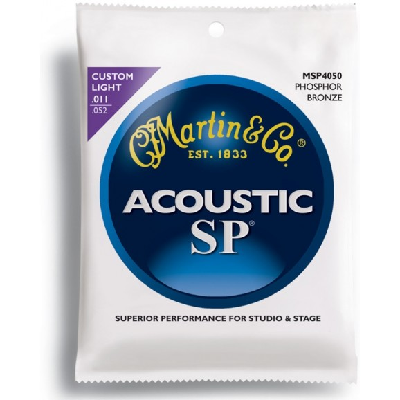 SP Acoustic Guitar Strings 11-52