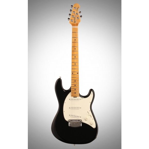 Cutlass Electric Guitar SSS in Black