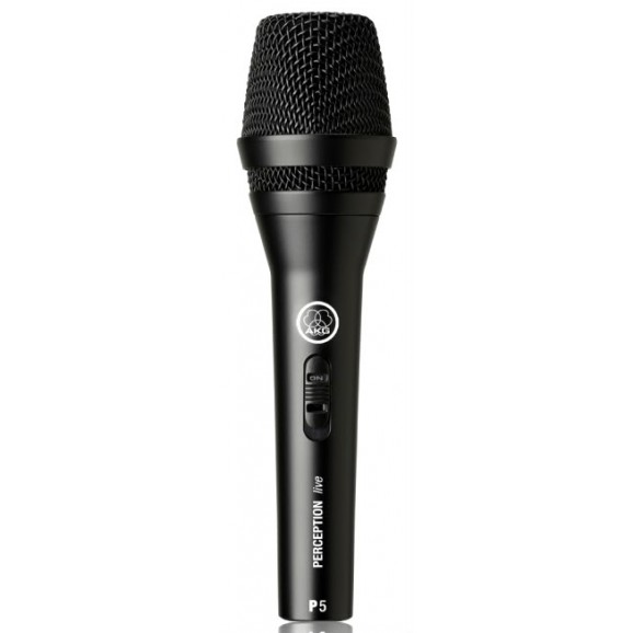 P5 Dynamic Supercardioid Microphone W/Switch