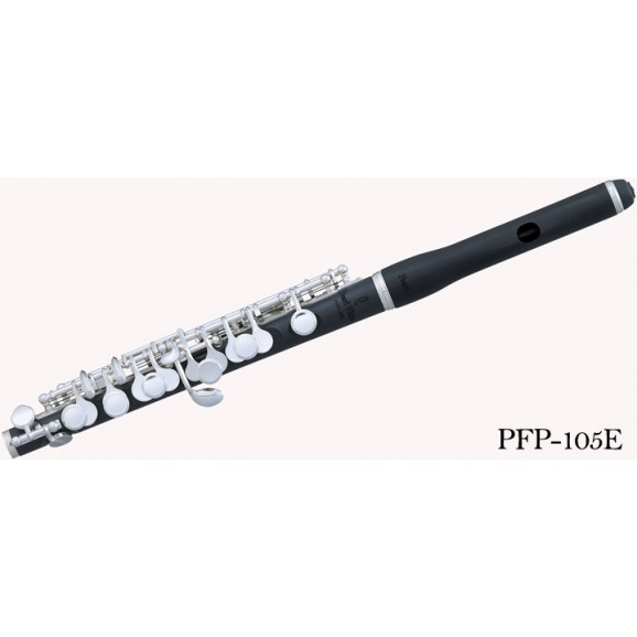 Pearl Piccolo - PFP-105E - Grenaditte Head & Body Silver Plate Keys