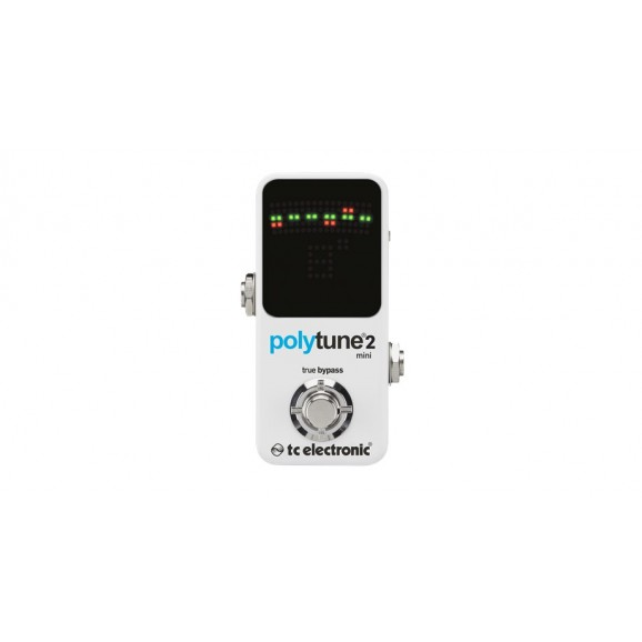 Polytune 2 Mini Polyphonic Tuner Pedal