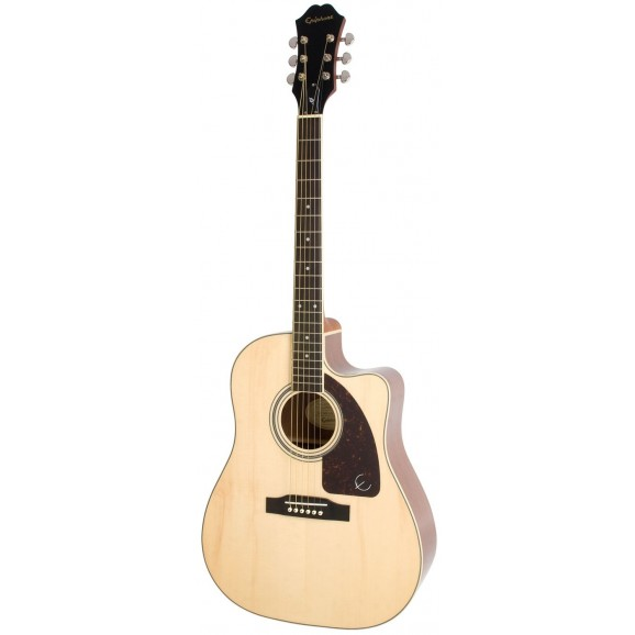 Epiphone - AJ-220SCE Solid Top Acoustic Electric in Natural