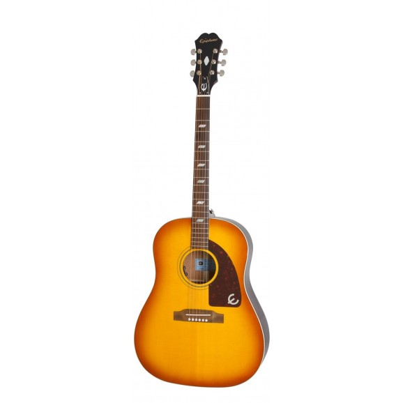 "Epiphone - Limited Edition Peter Frampton ""1964"" Texan Acoustic Electric Guitar in Sunburst"