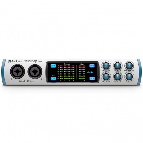 PreSonus Studio 68 Audio Interface with 4 Pre Amps