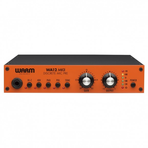 Warm Audio WA12 MKII Descrete Microphone Preamp