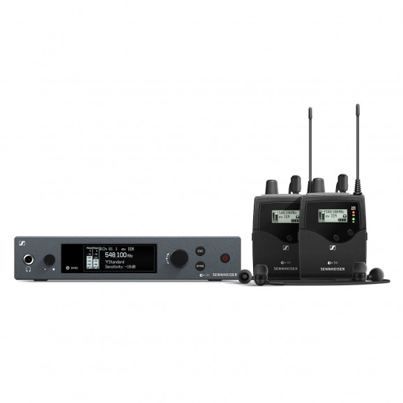 Sennheiser - G4 In-Ear Monitoring System with 2 Receivers