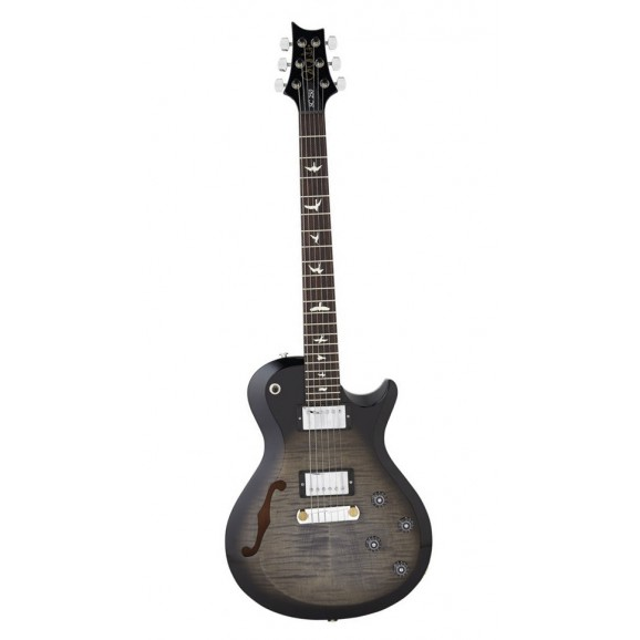 S2 Single Cut Semi Hollow - Grey Black