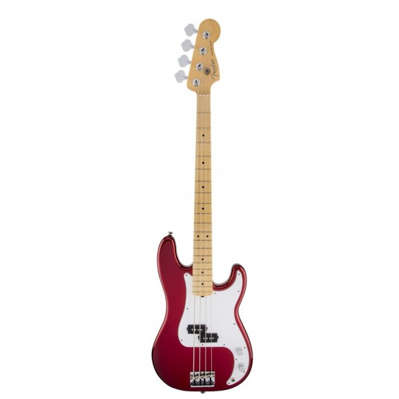 Standard Precision Bass P-Bass Maple Fretboard Candy Apple Red