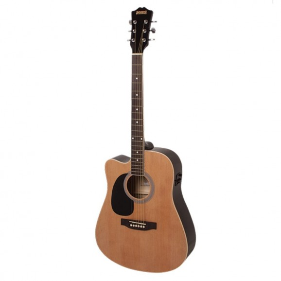 Redding Acoustic / Electric Guitar (left handed) in Natural
