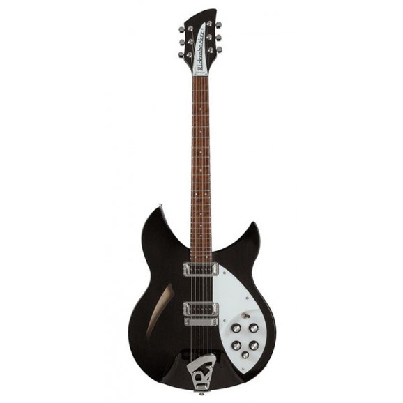 Rickenbacker 330 Model Electric Guitar Jet Glow includes Hard Case - Please Contact for Price / Availability