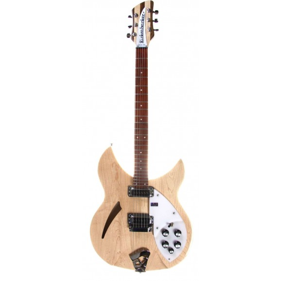 Rickenbacker 330 Model Electric Guitar Maple Glo includes Hard Case - Please contact for Price / Availability