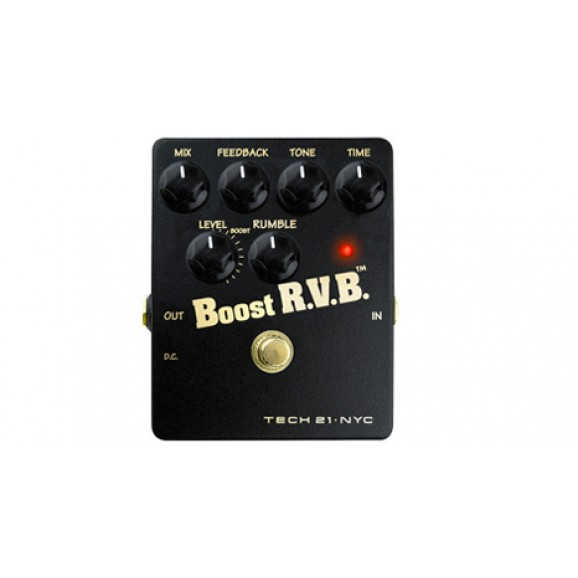 Boos RVB Reverb Emulator Effect Pedal