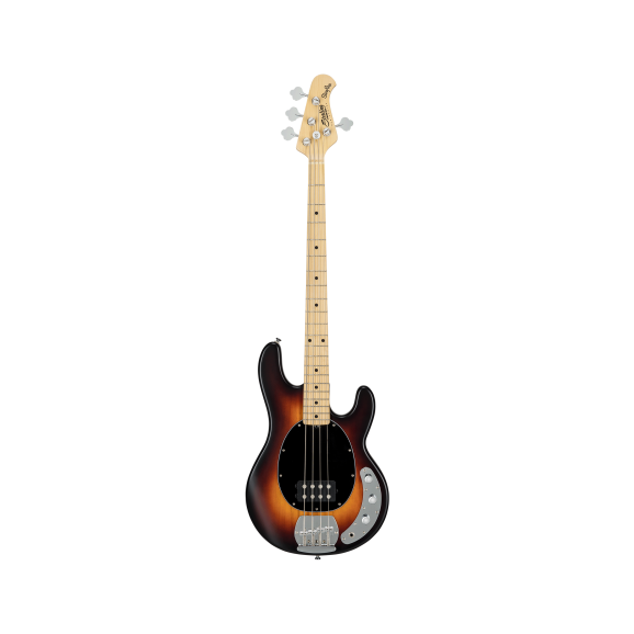 Sterling by Music Man Ray 4 Sub Bass Guitar 4 String in Vintage Sunburst Satin