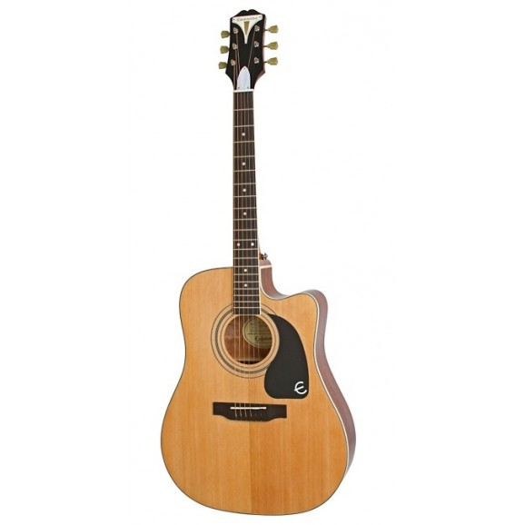 Epiphone PRO-1 Ultra Acoustic / Electric Guitar - Natural